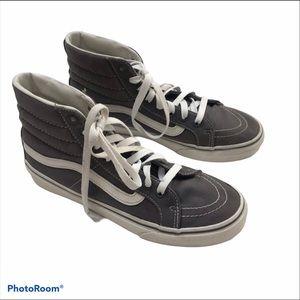 Vans High Top  Shoe Gray Size 7